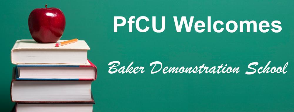 Baker Demonstration School Welcome