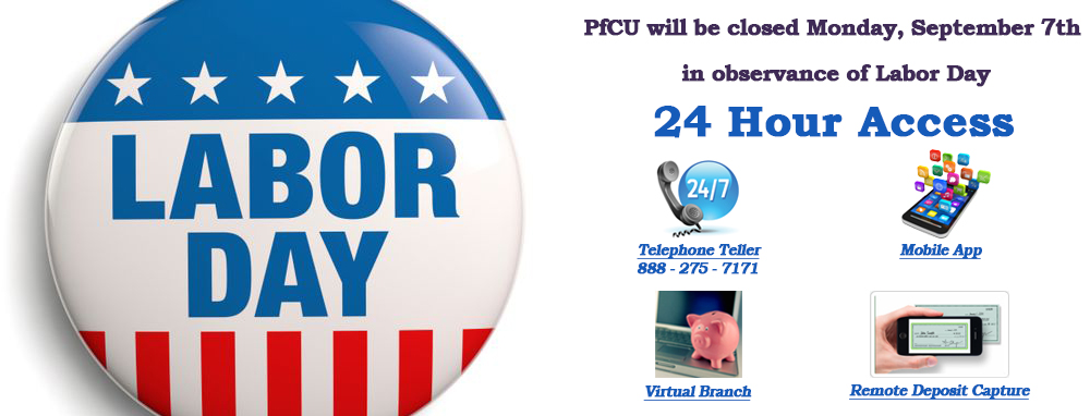 HOLIDAY CLOSURES LABOR DAY